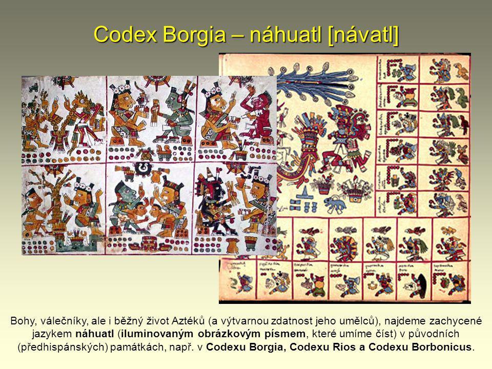 Codex Borgia – náhuatl [návatl]